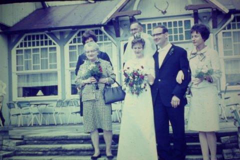 Bilder 1965,66 u.a. Hochzeit 010